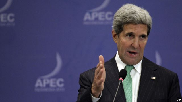 The Raw Feed: Secretary Kerry's Bali Press Conference