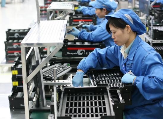 China's Manufacturing Sector Expands For First Time In 6 Months