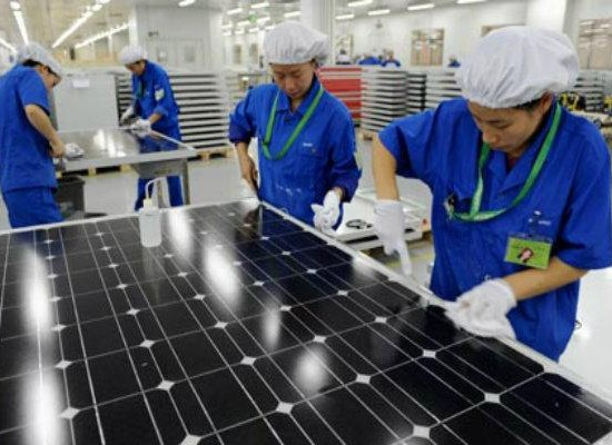 China outstrips Germany to become world's biggest solar market