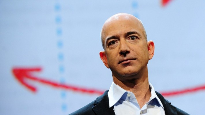 Amazon's Bezos Bullish On India