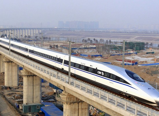 China Wants to be the Leader in the World's High-Speed Rail Market
