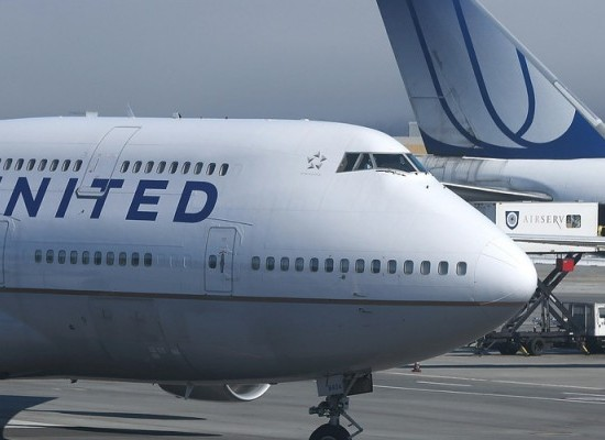 United Airlines is Turning East