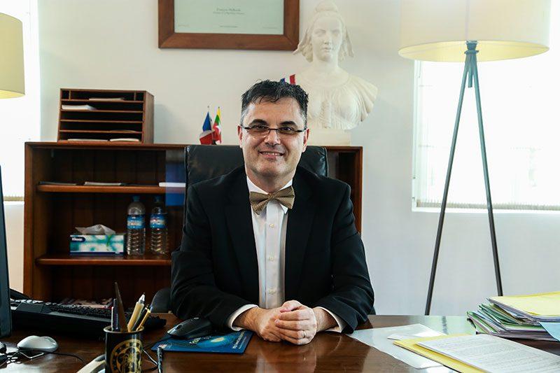 French Ambassador to Myanmar is Optimistic