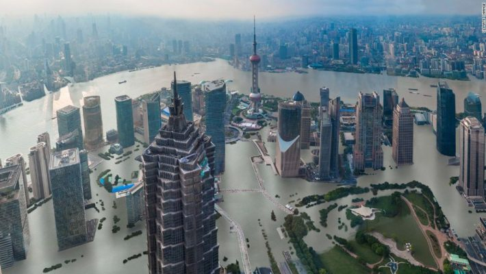 Asia at risk from rising sea levels
