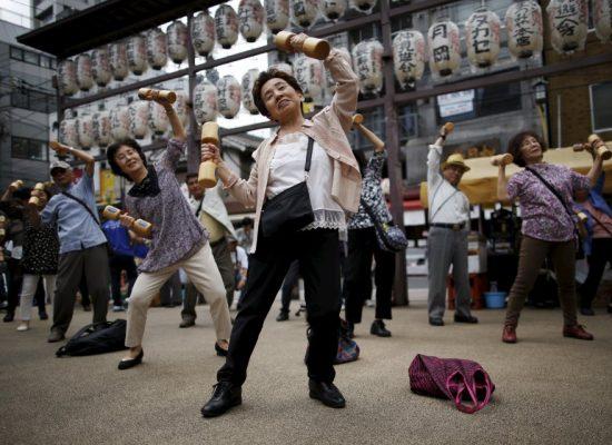 Money, power belong to elderly in Japan