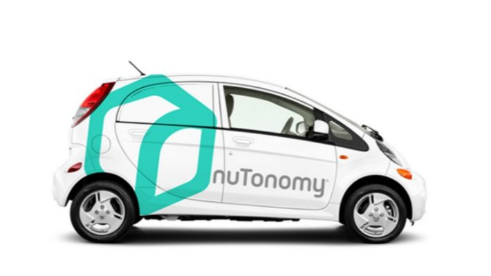 World's First Self-Driving Taxis Hit Singapore Streets