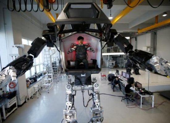 A Gundam-Style Robot Coming Soon