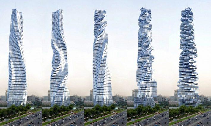A Dubai Hotel Which Moves