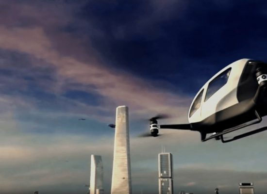 Chinese passenger drones are coming to Dubai