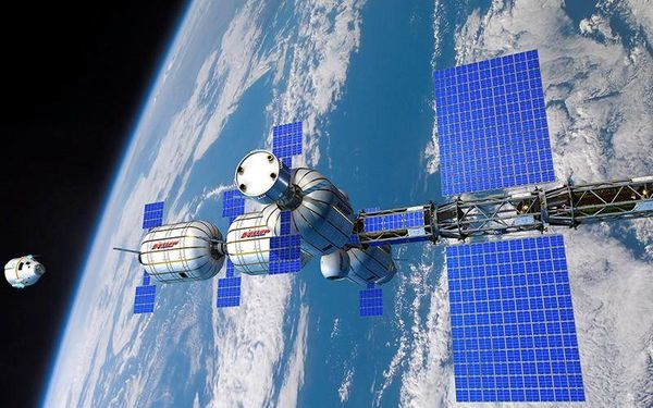 The factories of the future could float in space