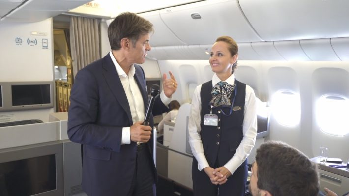 Turkish Airlines and Dr. Oz Change the Rules of Flying Healthy