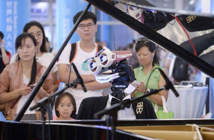 China's robotic revolution in full swing