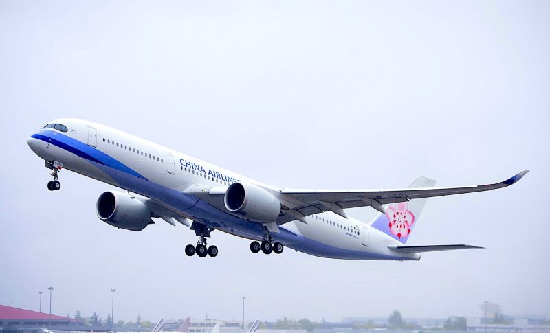China Airlines launches first direct flight between Taiwan and U.K.