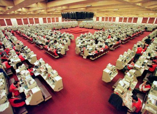 Final bell tolls for Hong Kong trading floor