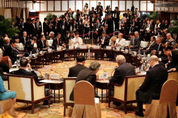 'Framework' agreed on Asia-Pacific trade pact without US