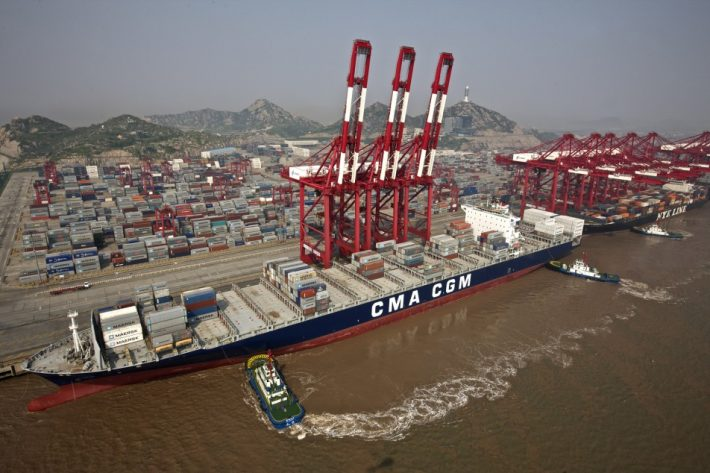 Shanghai begins trials of world's largest automated container shipping terminal