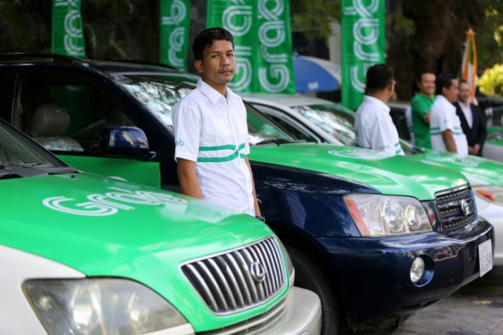 Uber rival Grab makes debut in Cambodia