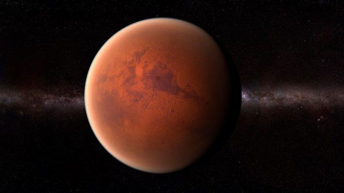 Origin of Life Could Lie Within Mars's Crust